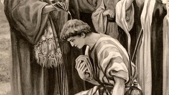 oint de Dieu samuel-anoints-david