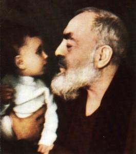 Padre pio et enfant-Jésus