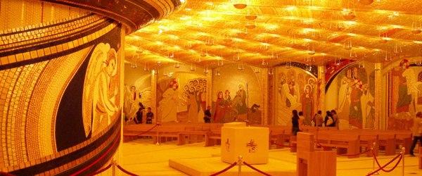 padre pio sanctuaire cripta-oro2