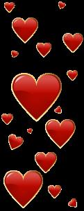 barre coeur en longuer