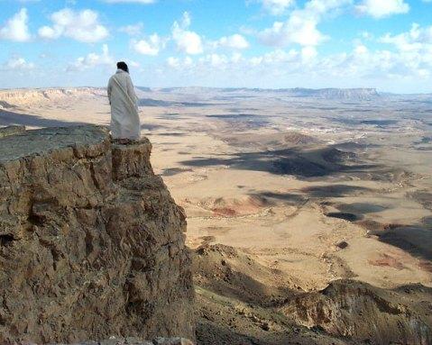 désert jésus