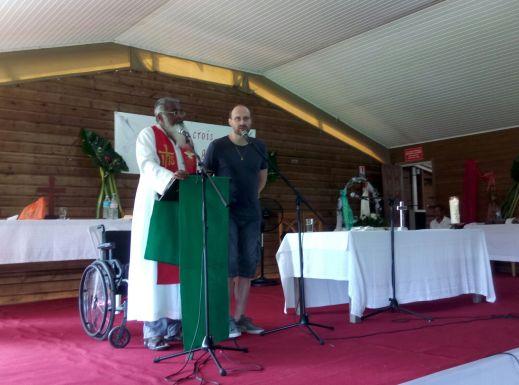 Retraite du Père James Manjackal en Martinique - Magnifique ! James-derniere