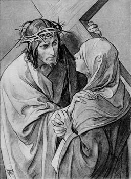 jésus et marie 4 station croix-feu-04