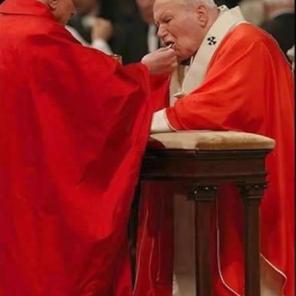pape jean-paul II 2derodillas