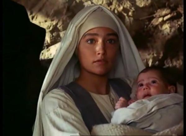 bébé jésus et marie