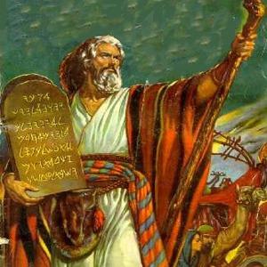 commandements de Dieu moiseLos Mandamientos de la Ley de Dios