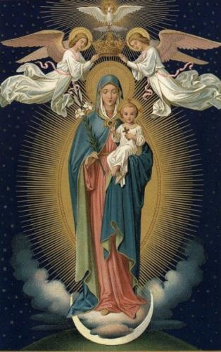 mère de Dieu le Fils Jésus