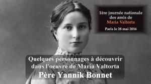 Père Yannik Bonnet-maria valtorta conférencier