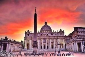 vatican st-peters-obelisk-dome