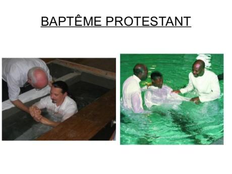 bapteme protestant