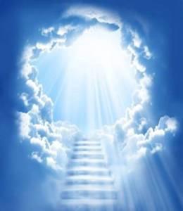 ciel bleu de Dieu