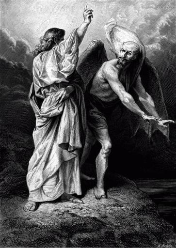 DIEU OU SATAN 40004001 FRD - Matthew 4 1 - The temptation in the wilderness
