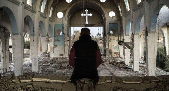 église détruite