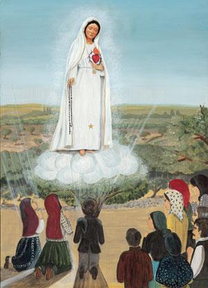 coeur immaculé marie 2e-apparition-de-Fatima