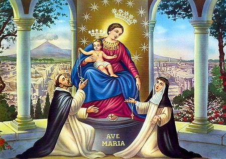 Marie Reine du Rosaire de Pompéi 2
