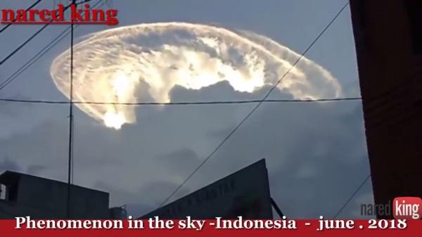 ciel indonésie juin 2018