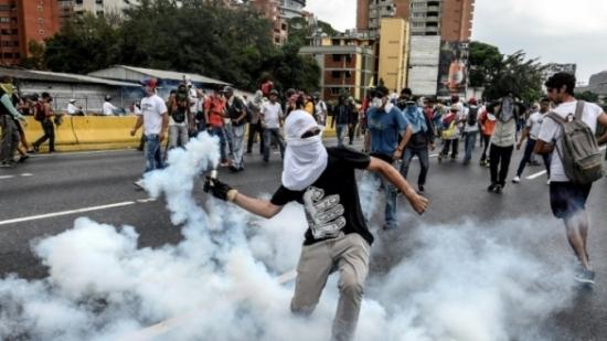 guerre civile venezuela_manif