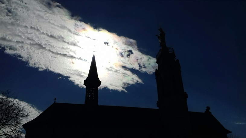 PHOTO IMPRESSIONNANTE 1er mars a 2017 à Notre Dame de Myans en Savoie, France