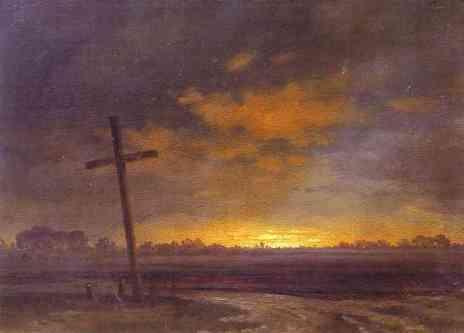 croix douleur et croix glorieuse landscape-with-a-cross-lithuania