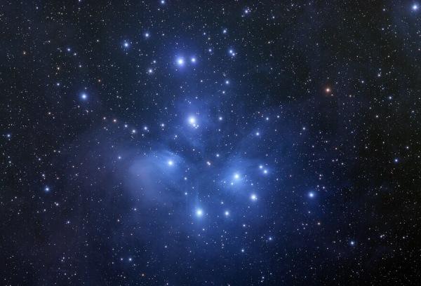 ÉTOILES M45_Pleiades_Stromar