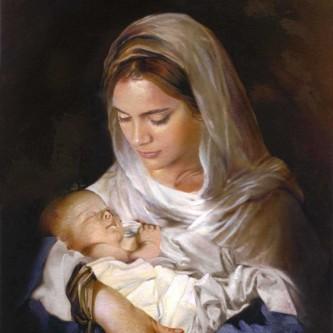 marie bébé jésus1