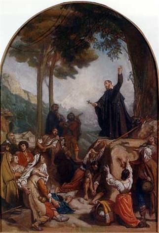 alexandre-jean-baptiste-hesse-la-prédication-de-saint-françois-de-sales