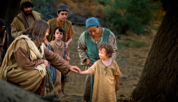 jesus-christ-et-les-petits-enfants