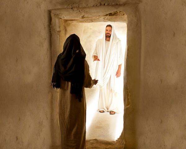 Il est ressuscité resurrected-christ-and-mary-magdalene-medium