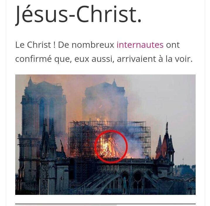 JÉSUS MISÉRICORDIEUX DANS FLAMME ND DE PARIS....