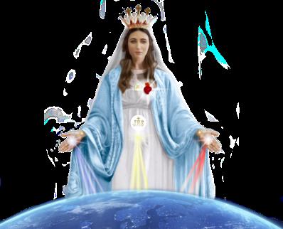 MARIE REINE ET MÈRE DES DERNIERS TEMPPS LUZ DE MARIA R-ESP 3