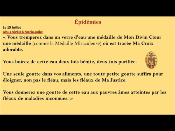 ÉPIDÉMIES MARIE-JULIE JAHENNY-REMEDE