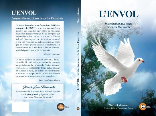 L'Envol - Introduction aux écrits de Luisa Piccarreta - Marcel-laflammecouverture-lenvol2019-