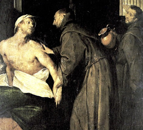 Le Petit Sacristain: Comment saint François guérit un lépreux de l ...