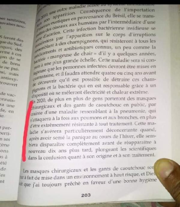 """Cette """"diseuse de bonne aventure"""" avait prédit la COVID-19 dans un livre paru en 2008 ! Coïncidence ? Cf239f70ec3d4568810e119f459356ca54"""
