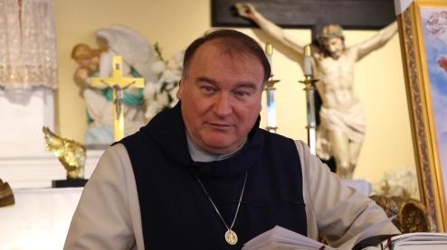 père Michel Rodrigue dans une vidéo 2