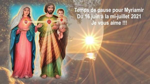 TEMPS DE PAUSE MYRIAMIR 2021